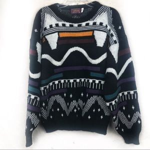 EUC- Vintage 80s Atlas Unisex Pullover Sweater MD.
